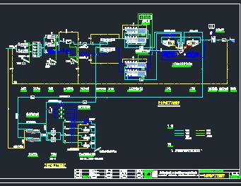 aao生物反应池平面图