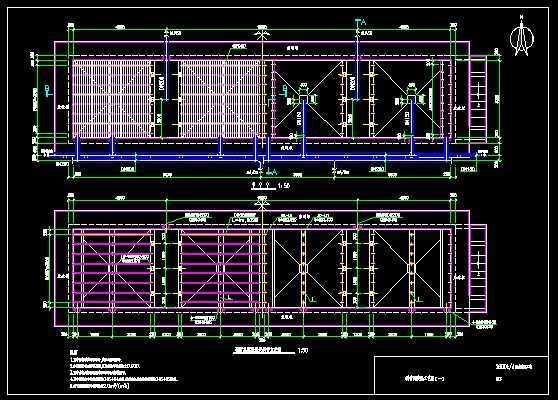 斜管沉淀池施工图免费下载 - 环保图纸 - 土木工程网
