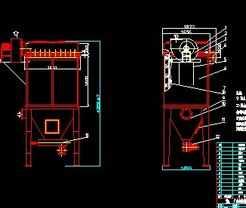 dmc脉冲袋式除尘器_DMC脉冲袋式除尘器图纸免费下载 - 环保图纸 - 土木工程网