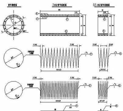 某圆管涵标准图纸免费下载 - 环保图纸 - 土木工程网