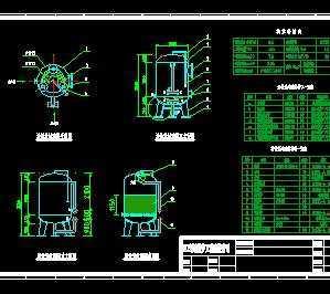 溜冰过滤器怎么制作_ф1800活性炭过滤器制作加工图免费下载 - 环保图纸 - 土木工程网