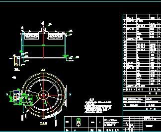 厌氧池大样图免费下载 - 环保图纸 - 土木工程网图片