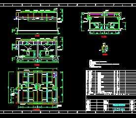 污水处理厌氧反应池设计图免费下载 - 环保图纸图片