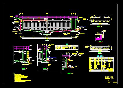 污泥浓缩池管配件设计图