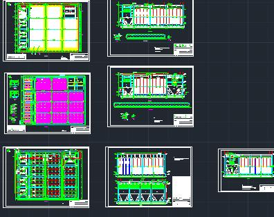 淀粉厂污水处理站设计图