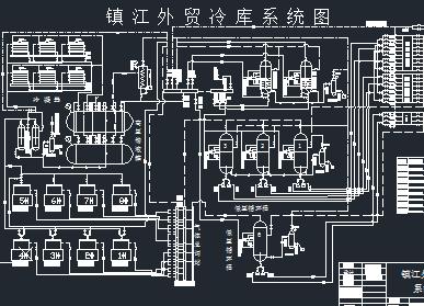 外贸冷库系统图
