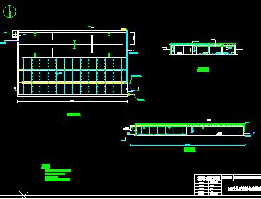 1000吨焦化废水处理工艺设计图
