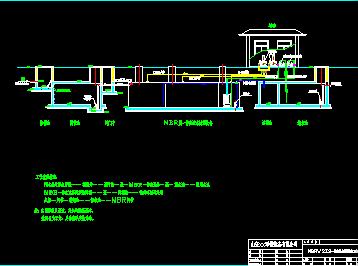 MBR膜一体化污水处理设备工艺流程图