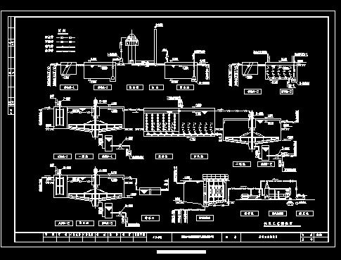 某工业园区废水处理工艺流程图