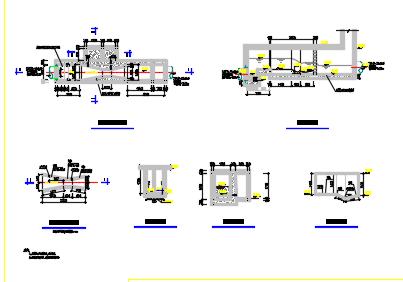 巴士计量槽施工图