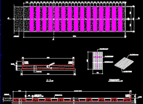 钢格栅结构设计详图