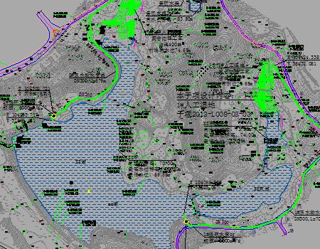 人工湿地水环境整治工程施工图