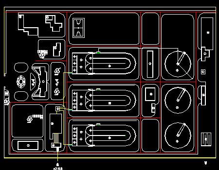 城区污水处理厂设计图