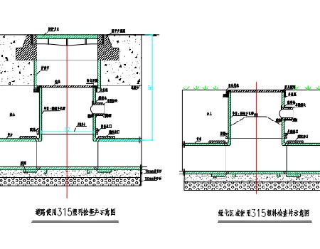 农村污水管网给排水施工图(PDF格式)