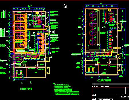 综合工房工业废水深度处理再利用工程图纸
