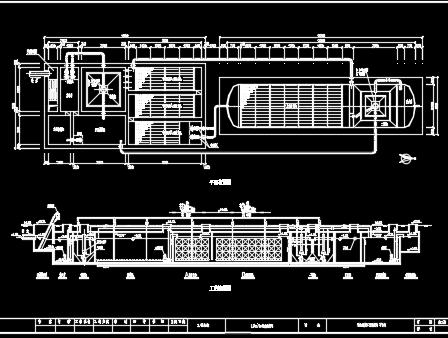 地埋式污水处理工艺流程图