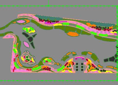人工湿地水质净化项目施工图纸