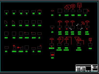 环保类CAD图例