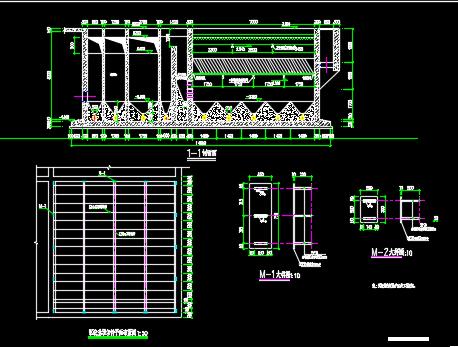 小型混凝沉淀池结构设计详图