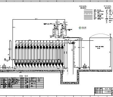 连续膜过滤系统设计图纸(PDF格式)