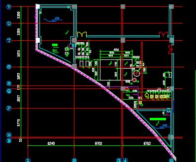 某商业中心中水工程设计图纸