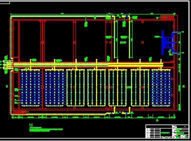 某化纤公司21000m3|d废水处理工程CASS池工艺图