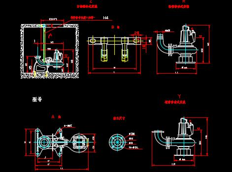 水泵样式图