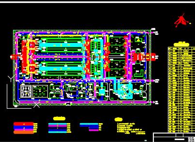 20万吨给水厂工艺设计图纸
