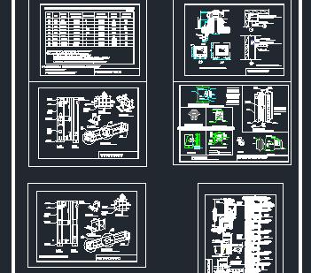高层住宅厨卫排烟道设计图