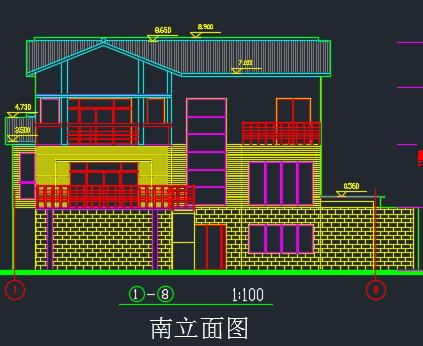 小别墅revit建模