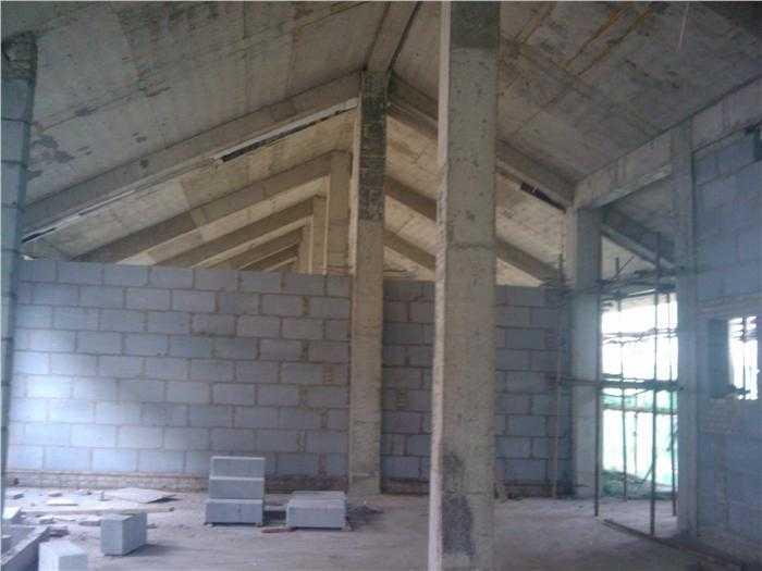 坡屋面工程现场实例图片 - 建筑技术