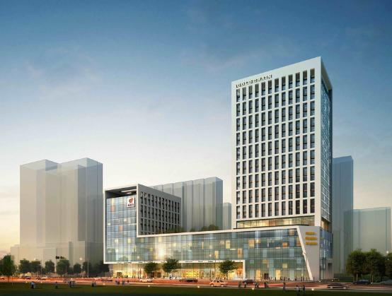 某欧式办公楼建筑施工图纸 某4层工厂办公楼建筑施工图纸 某四层办公