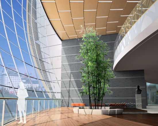 苏州大学新校区炳麟图书馆室内设计