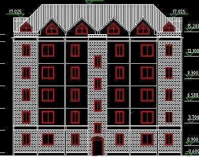 单元式住宅小区设计图免费下载 建筑户型平面图