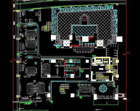 ktv电路施工图