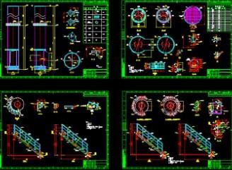 钢结构烟囱结构设计图图片