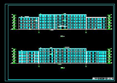 五层框架结构教学楼毕业设计(计算书、图纸)