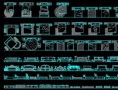 CAD装饰装修图库