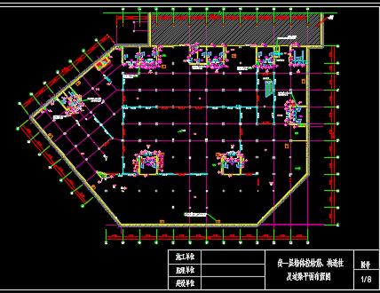 五层住宅楼结构施工图纸