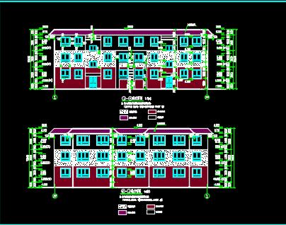 三层砌体别墅建筑施工图纸