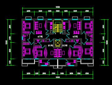 住宅户型平面图