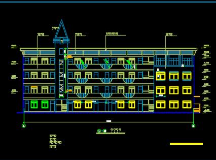小学教学楼建筑施工图纸