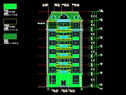 私人住宅建筑施工图纸