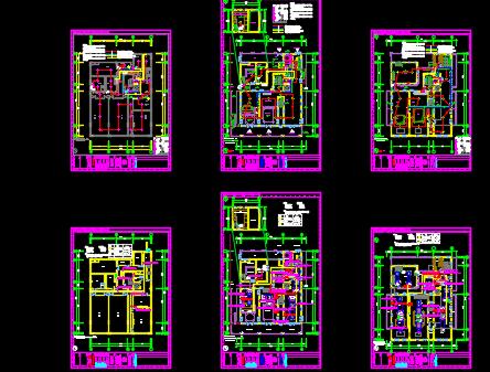 世博会弱电深化设计图纸