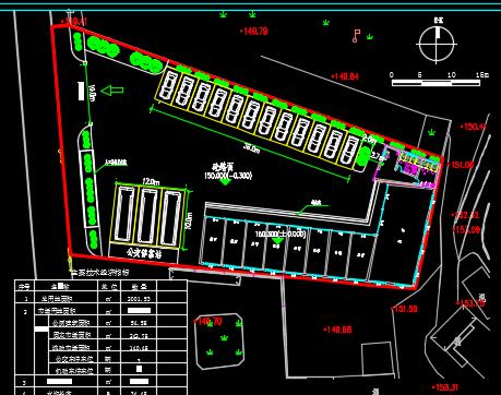 小型农贸市场附属工程设计图纸
