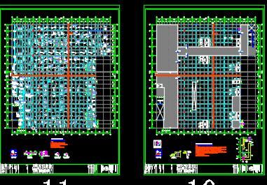 某五层商场结构施工图纸