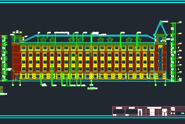 某学校五层宿舍楼工程施工组织设计(含建筑结构图)