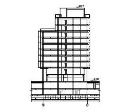 十层框剪结构研发楼工程施工组织设计