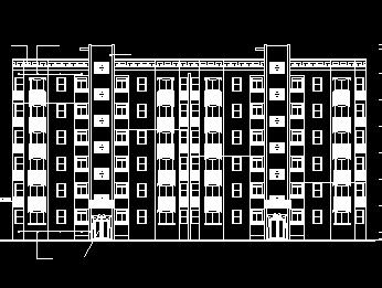 6层住宅楼毕业设计(含图纸)