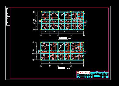 5层框架综合楼毕业设计(计算书、施组、图纸)